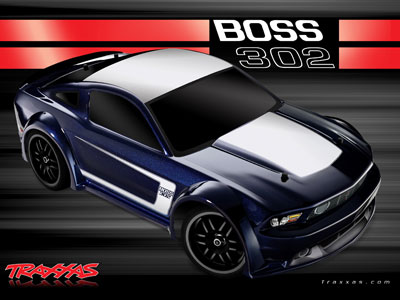 1/16 Ford Mustang Boss 302 Brushed №1