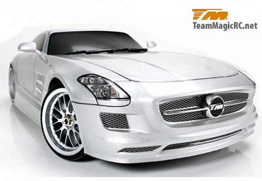Дрифт 1/10 электро E4D SLS RTR (Brushless Spec.) №1