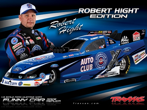 Funny Car NHRA Brushless 2WD 1/8 RTR №18