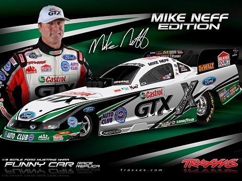 Funny Car NHRA Brushless 2WD 1/8 RTR №20