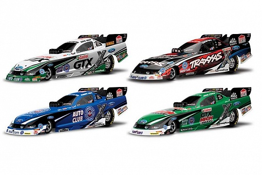 Funny Car NHRA Brushless 2WD 1/8 RTR №12