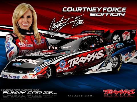 Funny Car NHRA Brushless 2WD 1/8 RTR №19