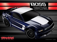 1/16 Ford Mustang Boss 302 Brushed