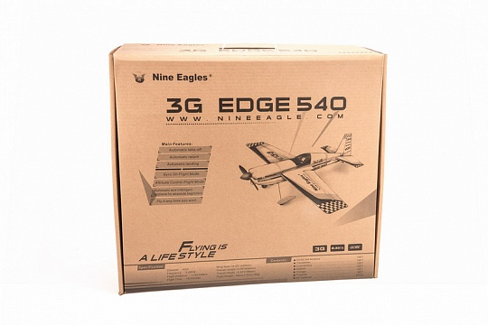 Edge 540 (red yellow) 3G with Autopilot №8