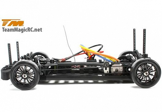 Дрифт 1/10 электро E4D SLS RTR (Brushless Spec.) №6
