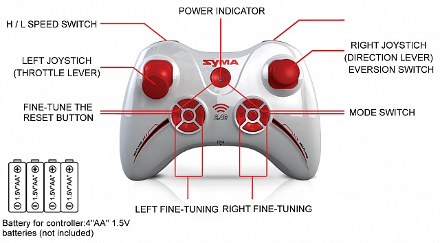 SYMA-X11 quadcopter with 6AXIS GYRO №7