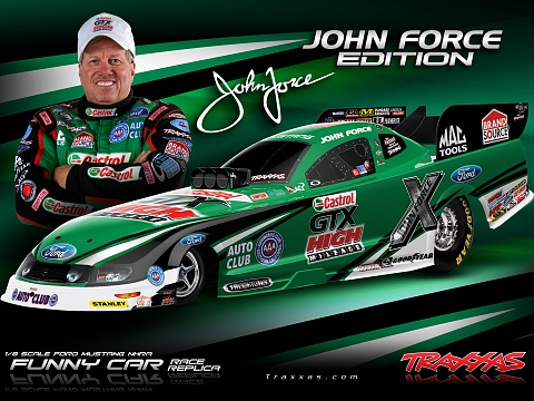 Funny Car NHRA Brushless 2WD 1/8 RTR №17