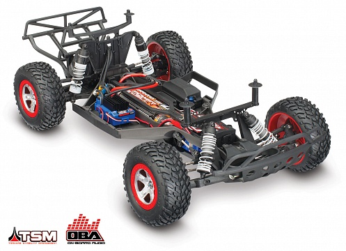 Slash 2WD VXL Brushless 1/10 RTR OBA с системой стабилизации + NEW Fast Charger №25