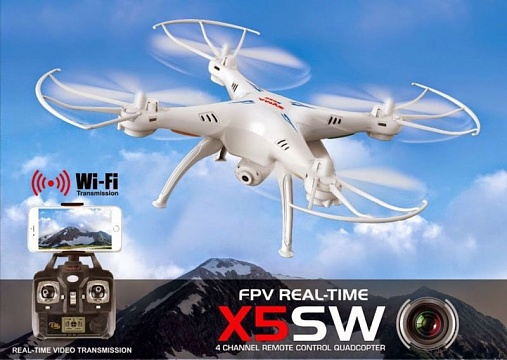 X5SW 4CH quadcopter with 6AXIS GYRO (с FPV камерой) №1