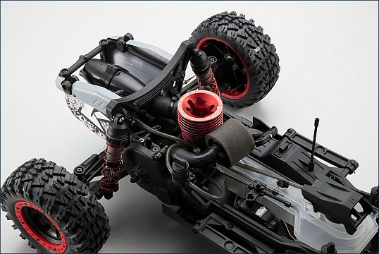 1/7 GP 2WD Scorpion B-XXL RTR (Black) №4