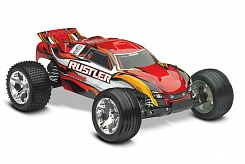 Rustler 2WD 1/10 RTR + NEW Fast Charger