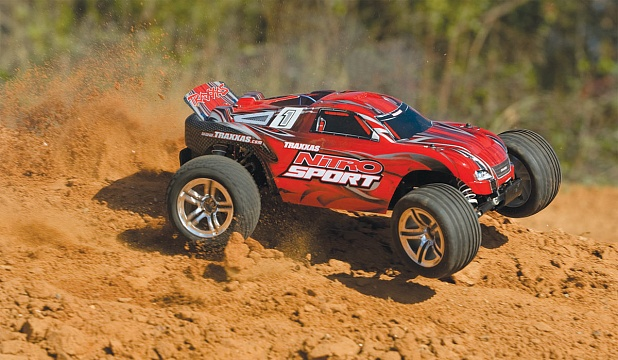 Nitro Sport 2WD 1/10 RTR + NEW Fast Charger №53