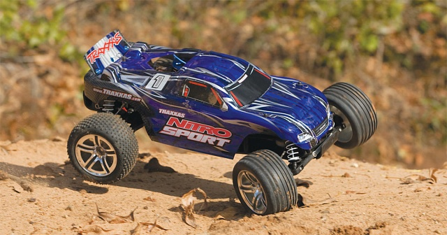 Nitro Sport 2WD 1/10 RTR + NEW Fast Charger №38