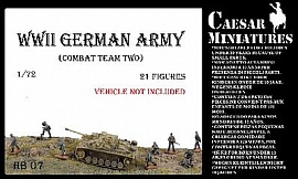 1/72 WWII German Army Combat Tank