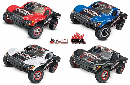 Slash 2WD VXL Brushless 1/10 RTR OBA с системой стабилизации + NEW Fast Charger №26