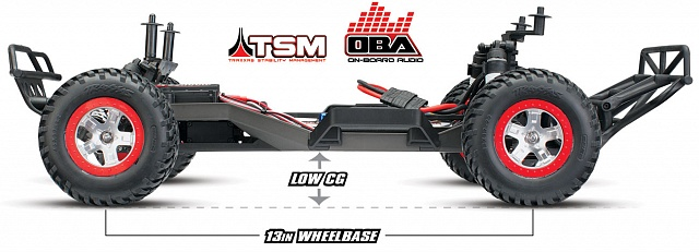 Slash 2WD VXL Brushless 1/10 RTR OBA с системой стабилизации + NEW Fast Charger №28