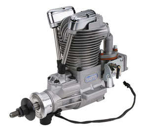 Четырехтактный бензиновый двигатель Saito FG-36