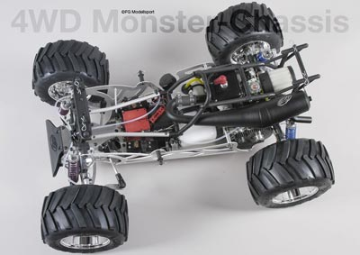 Competition Monster Truck 4WD with hydr. brake №1