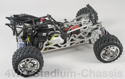 Competition Stadium Hummer 4WD, hydr. brake, clear №1