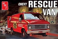 1/25 1970's Chevy Rescue Van (White)