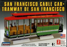 1/25 SAN FRANCISCO CABLE CAR