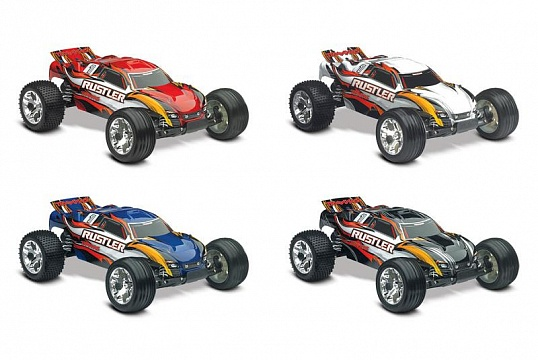 Rustler 2WD 1/10 RTR + NEW Fast Charger №14