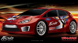 1/16 Ford Fiesta Electric On-Road Racer 4WD