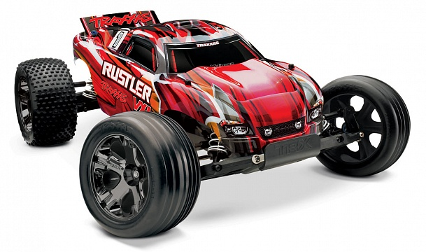 Rustler VXL Brushless 2WD 1/10 RTR + NEW Fast Charger №5
