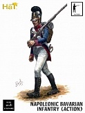 1/32 Napoleonic Infantry Bavarian Infantry Action (18)