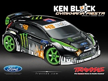 1/16 Ken Block Gymkhana Fiesta Brushed