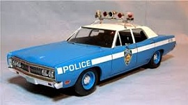 1/25 1970 Ford Interceptor Police Car