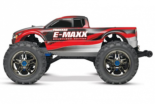 E-Maxx Brushless MXL 4WD 1/10 RTR (with Bluetooth module and telemetry) + NEW Fast Charger №7