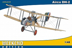 1/48 Airco DH2 BiPlane Fighter (Wkd Edition Plastic Kit)