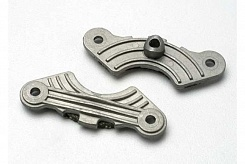Brake pad set (inner and outer calipers with bonded friction material)