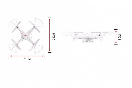 X5C 4CH quadcopter with 6AXIS GYRO (с камерой) №7