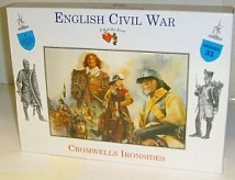1/32 English Civil War: Cromwells Ironside Infantry (4 Mtd)