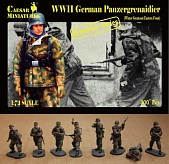 1/72 WWII German Panzergrenadier