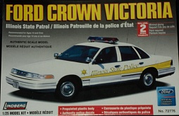 1/25 Ford Crown Victoria State Police Car Illinois (D)