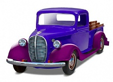 1/25 1937 Ford Pickup Street Rod (2 in 1)