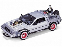 1/24 DeLorean Time Machine Back To The Future III (Met. Silver)