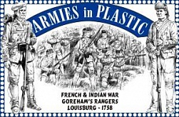 1/32 French & Indian War Louisburg 1758 Goreham's Rangers (16)