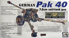 1/35 GERMAN PAK 40 7.5CM ANTI