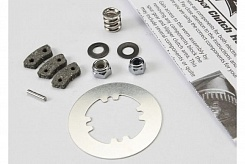 Rebuild kit, slipper clutch (steel disc/ friction pads (3)/ spring (2)/ 2x9.8mm pin/ 5x8mm MW/ 5.0mm