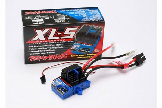 XL-5 Electronic Speed Control, waterproof (land version, low-voltage detection, fwd/rev/brake) №1