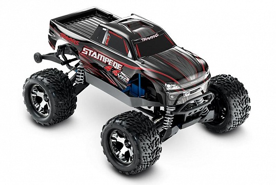 Stampede 4x4 VXL Brushless 1/10 RTR Fast Charger TSM №36
