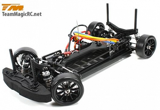 Дрифт 1/10 электро E4D S15 RTR (Brushless Spec.) №5