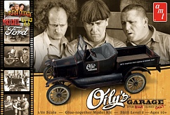 AMT1012 1/25 The Three Stooges 1925 Ford Model T Car (2 Kits)