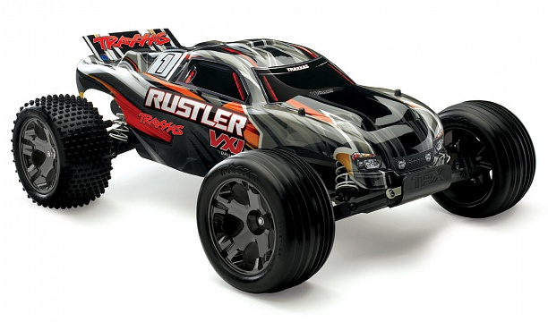 Rustler VXL Brushless 2WD 1/10 RTR + NEW Fast Charger №3