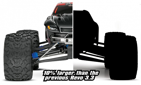 Revo 3.3 Nitro 4WD 1/10 RTR (with Bluetooth module and telemetry) №20