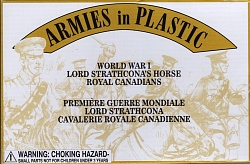 1/32 WWI Lord Strathcona's Horse Royal Canadians (5 Mtd)